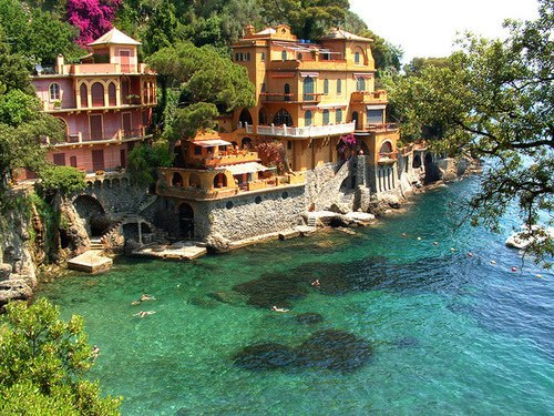 Seaside Houses, Portofino, Italy
