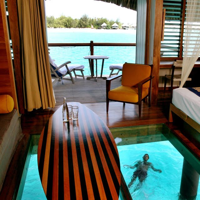 Overwater Bungalow, Le Meridien Bora Bora