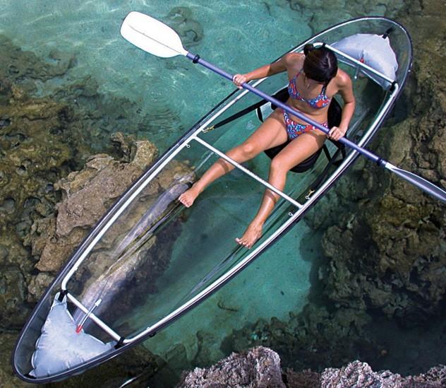 Transparent Canoe, Colorado