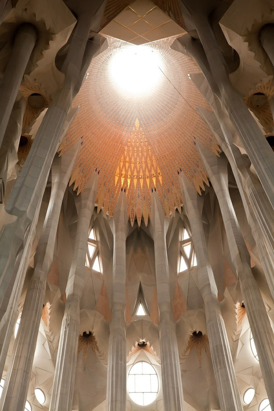 Columns, Barcelona, Spain